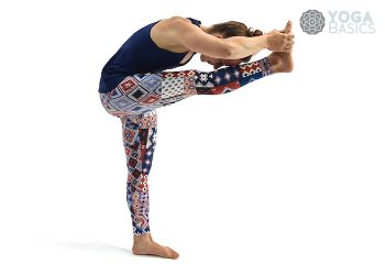 Standing head to knee pose / Dandayamana Janu Sirsasana