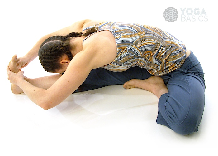 janu sirsasana Seated Head to Knee