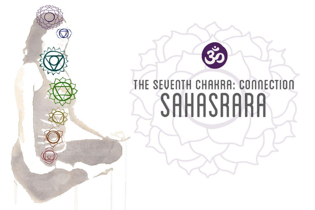 "Sahasrara, ""thousand petaled lotus,"" seventh chakra"