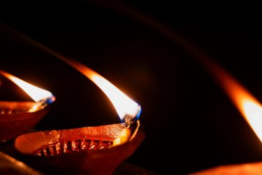 Diwali candle lamp
