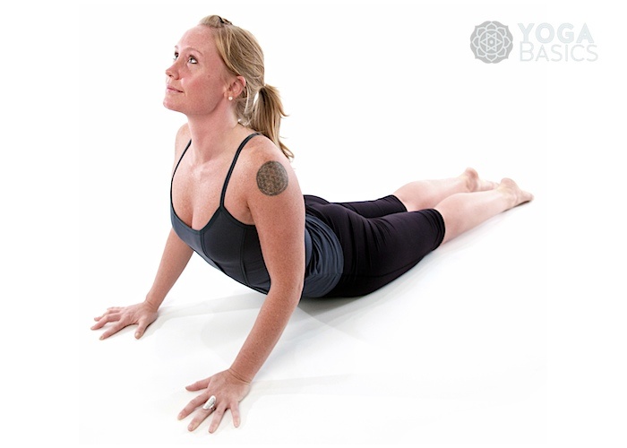 Cobra Pose O Yoga Basics