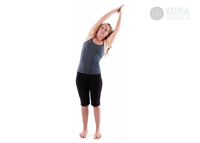 Crescent Moon Pose • Yoga Basics