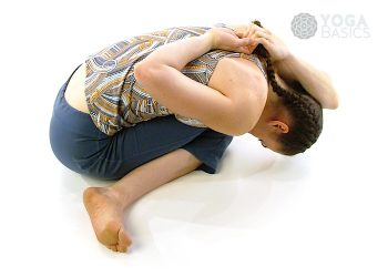 Gomukasana • cow face pose