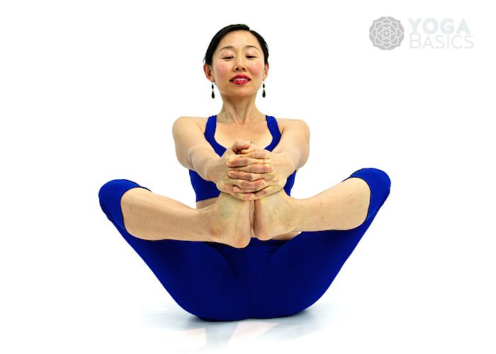 Balancing Bound Angle Pose Yoga Basics