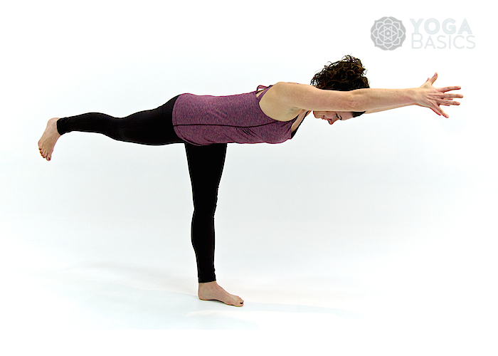 Warrior 3 Yoga Pose • virabhadrasana III