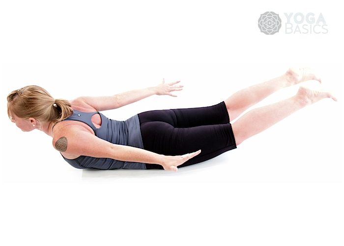 Supine position yoga