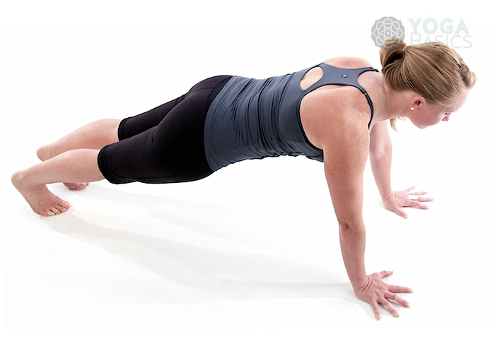 Plank yoga pose / Phalakasana