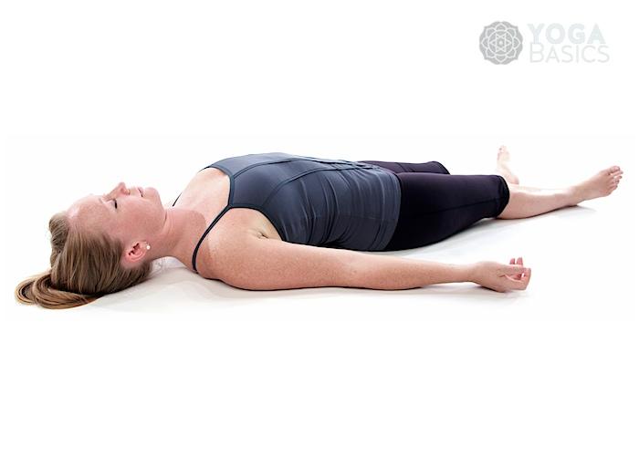 corpse pose shavasana or savasana yoga basics