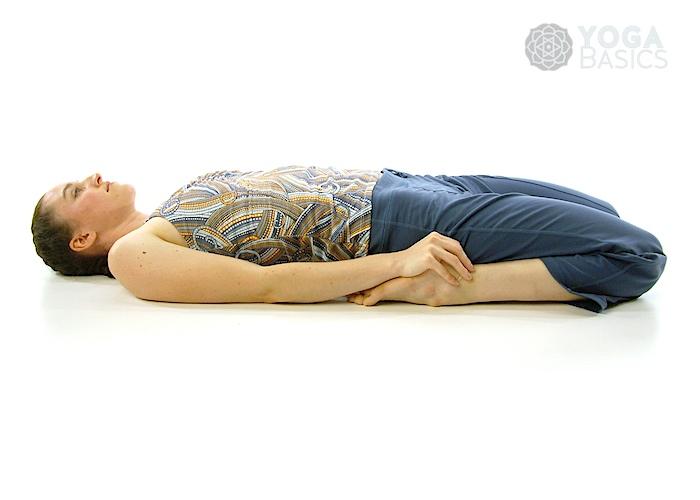 Supine Position Yoga Supine Hero Pos...