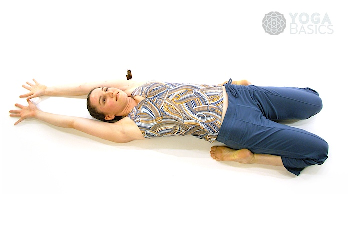 Supine Position Yoga Supine Hero Pose • Y...