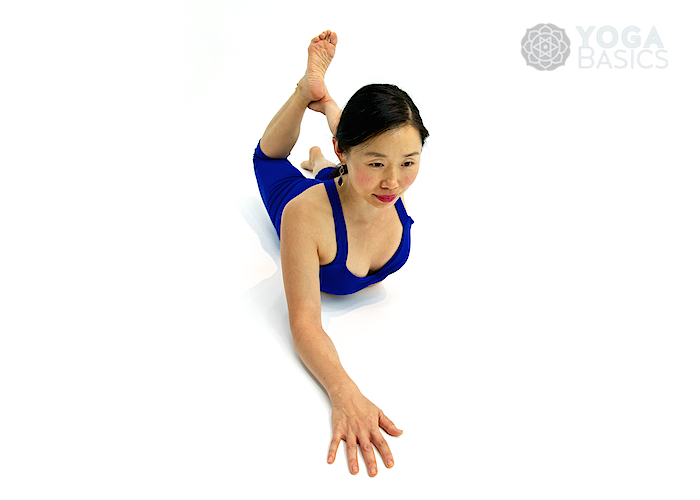 Half Bow Pose Yoga Basics