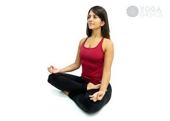 Half Lotus yoga pose