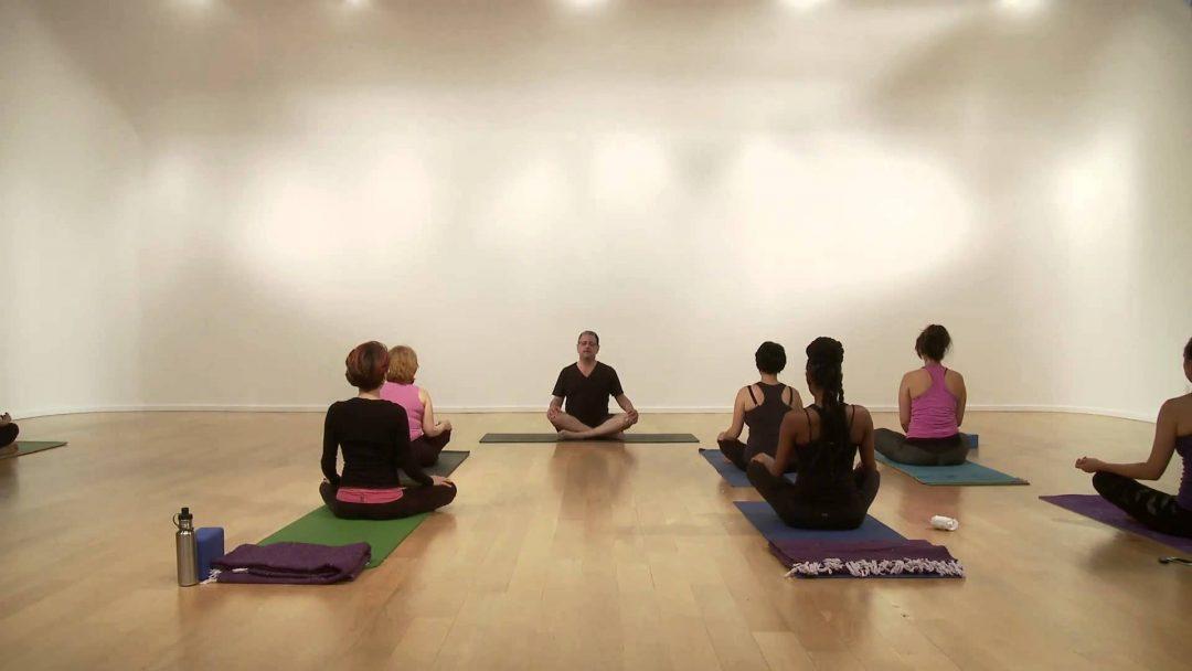 YogaGlo yoga class