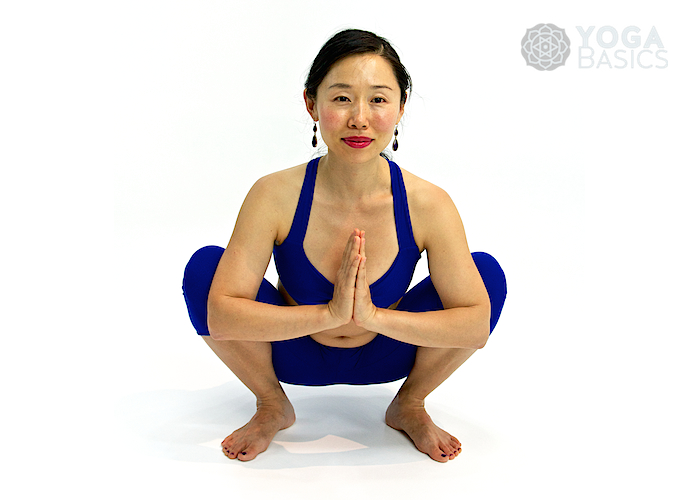 Prayer Squat • Namaskarasana
