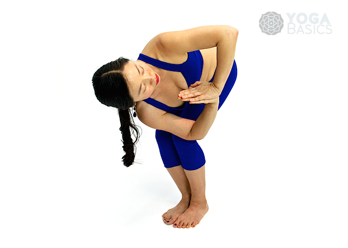 Prayer Twist • namaskar parsvakonasana