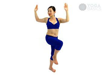 Shiva Twist • parivrtta natarajasana