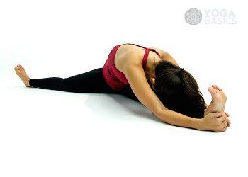 reverse warrior pose • yoga basics