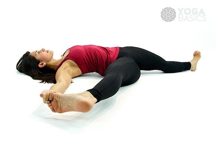 Supine Position Yoga Supine Hand to ...