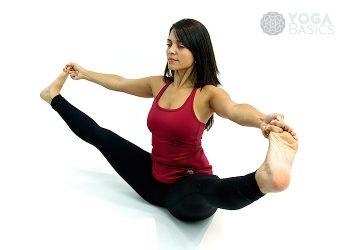 half camel pose • yoga basics