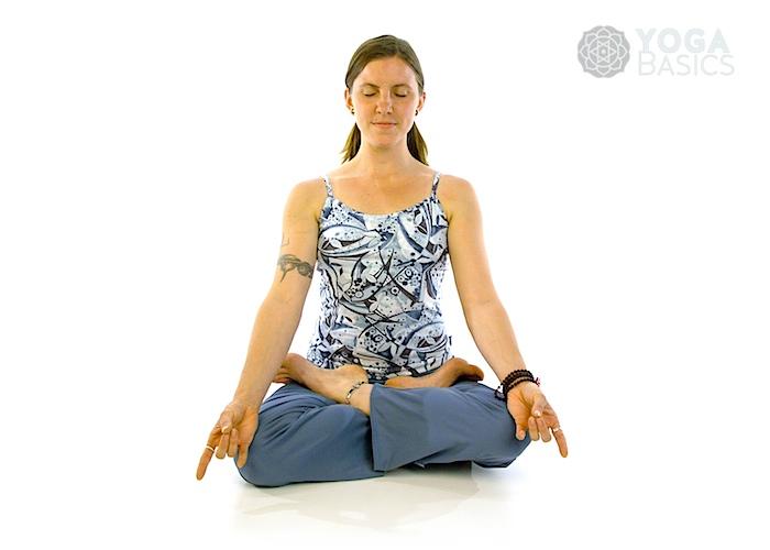 Full Lotus Pose Yoga Basics