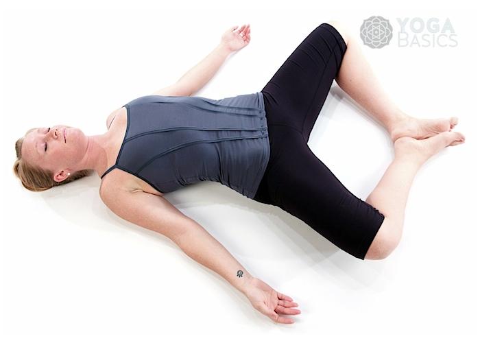 Supine Position Yoga Supine Bound An...