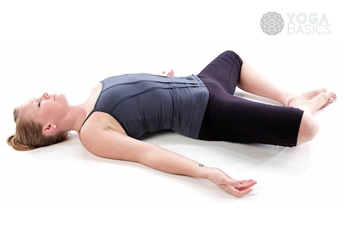Supine Bound Angle / Supta Baddha Konasana