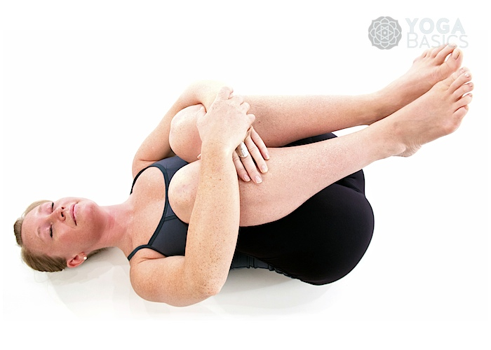 Wind Relieving Pose Pavana Muktasanao Yoga Basics