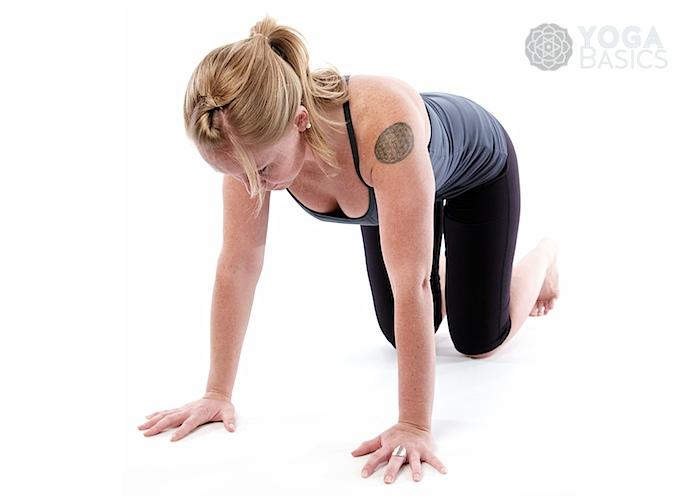 Table Pose O Yoga Basics