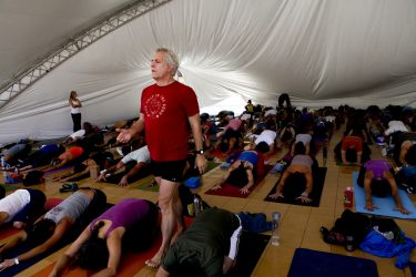 John Friend at WANDERLUST YOGA & MUSIC FESTIVAL