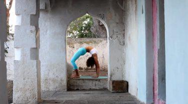 Ashtanga Yoga Demo in Mysore
