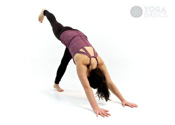 One Leg Downward Facing Dog • Eka Pada Adho Mukha Svanasana