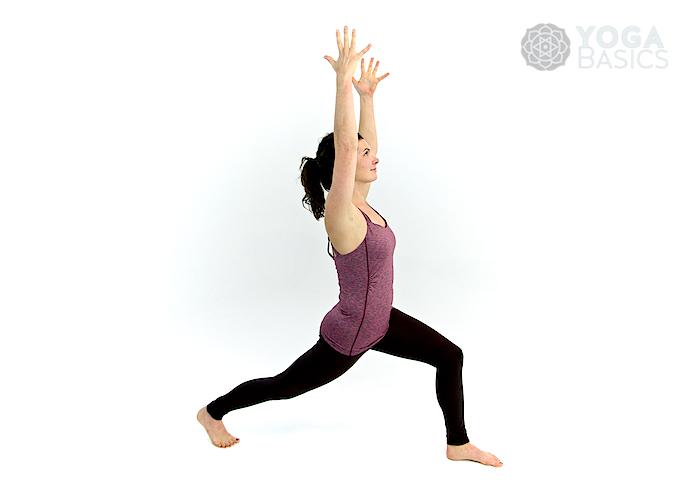 High Lunge Pose • Yoga Basics