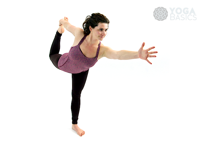 Dancer Yoga Pose • natarajasana