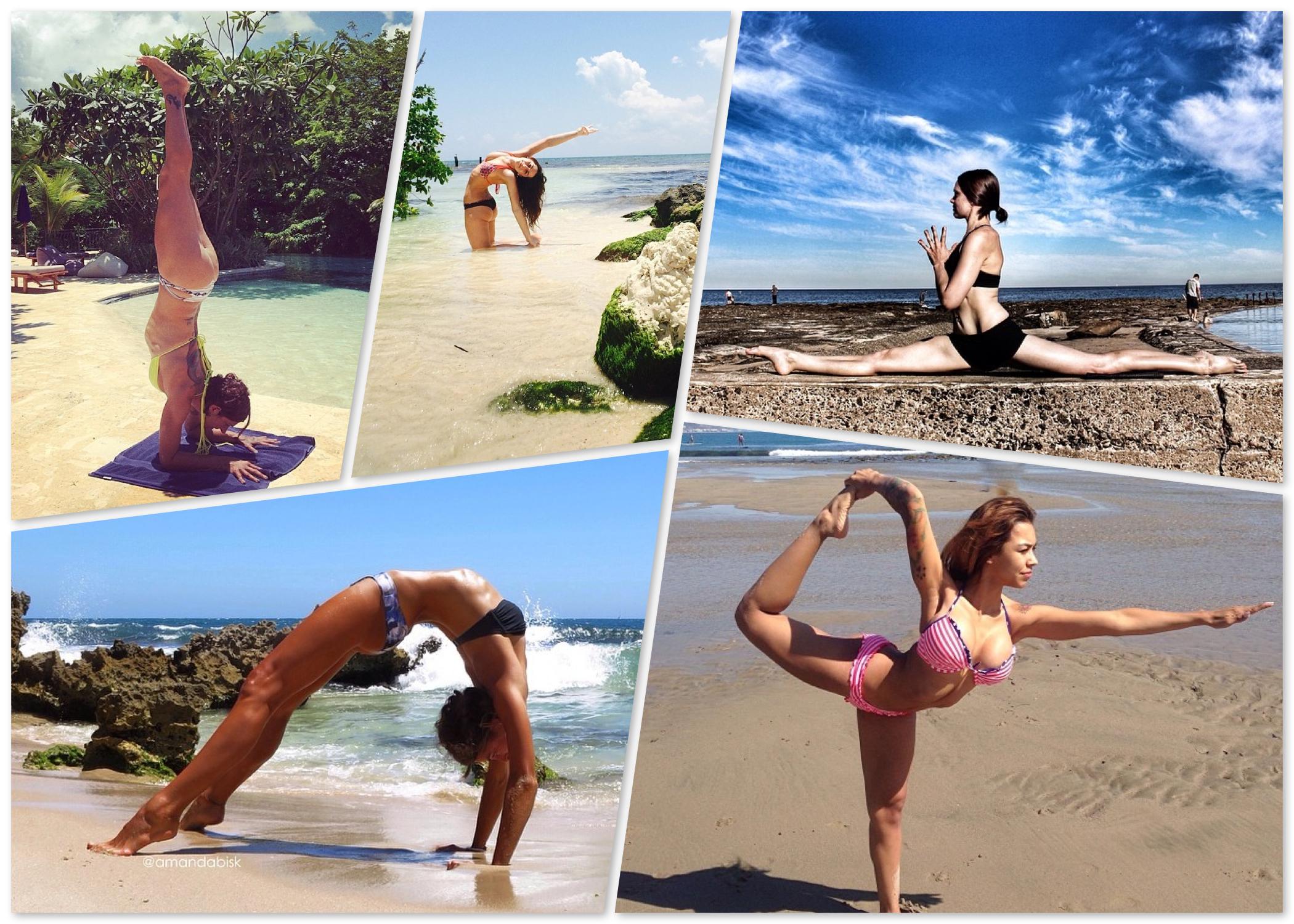 Instagram bikini yogis