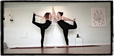 mother daughter yoga video