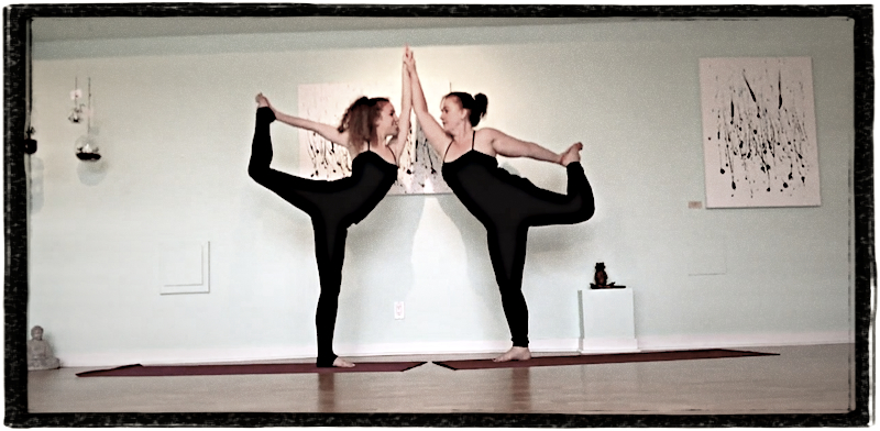 Adorable Mother-Daughter Yoga Video