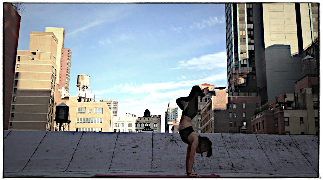 NYC Yoga time-lapse Video