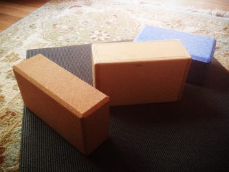 choosing yoga blocks