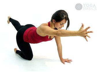 half lotus pose • yoga basics