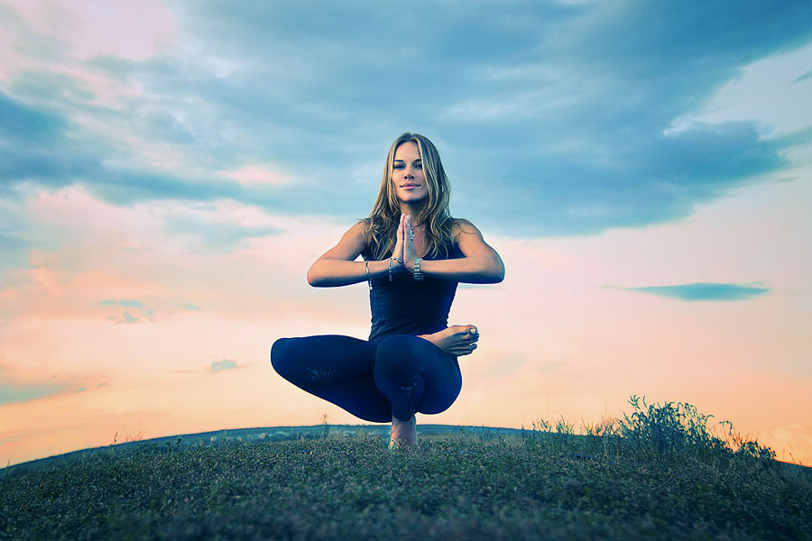 yoga woman yoga pose