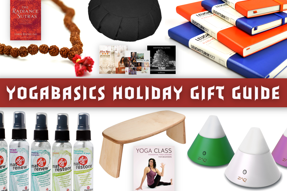 YogaBasics Holiday Gift Guide '14 • Yoga Basics