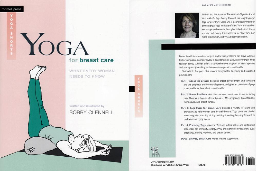 yoga for breast care book