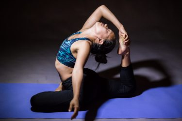 challenging yoga pose