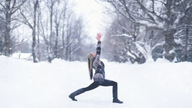 yoga during winter
