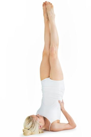 yoga pose when sick