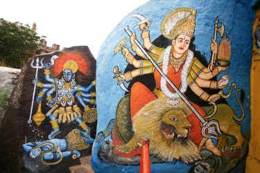 kali goddess yoga