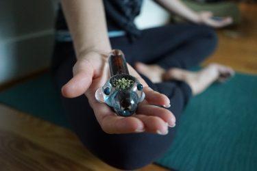 marijuana yoga class