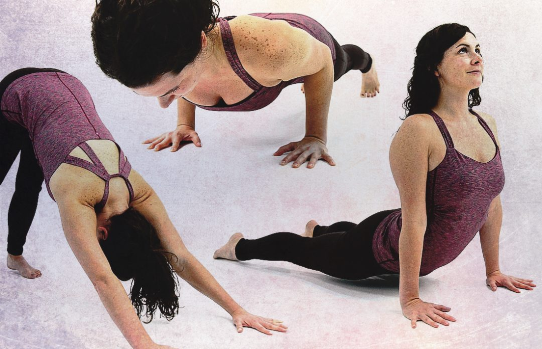 safety in sun salutations