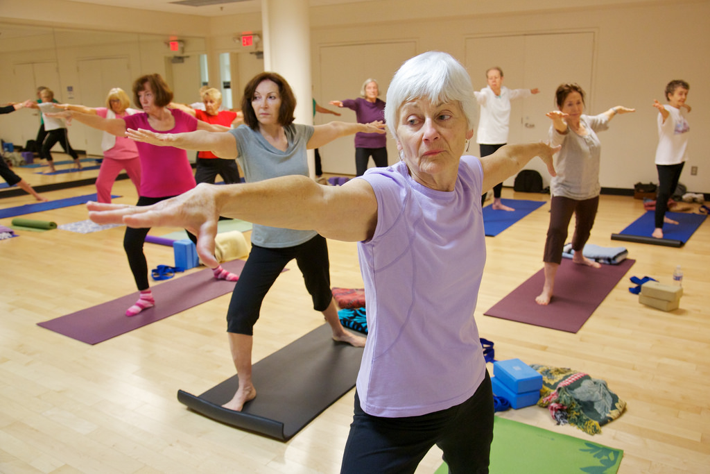starting yoga older adult