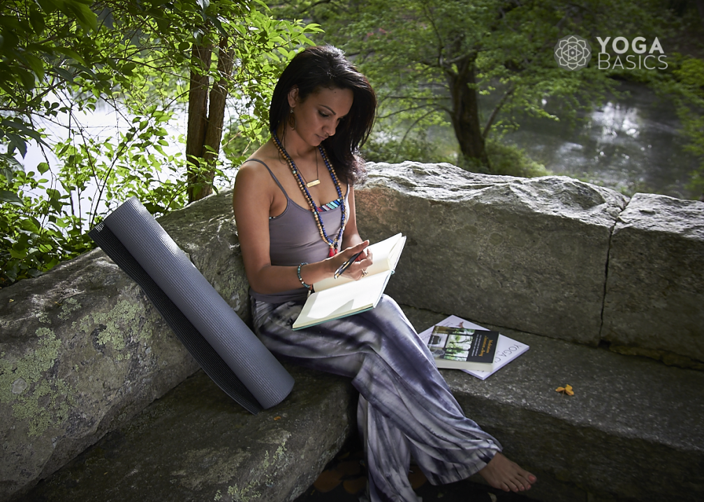 writing a yoga journal